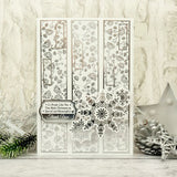 Hunkydory Let It Snow Luxury Foiled Card