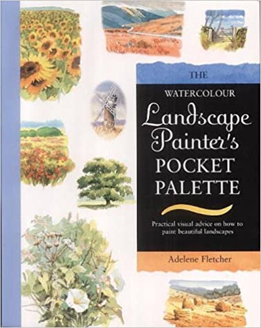 Search Press Watercolour Landscape Painters Pocket Palette