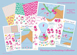 Flamingo Digital Cardmaking Download Kit