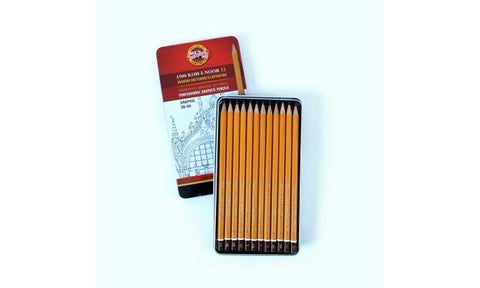 Koh-I-Noor Professional Graphite Pencil Tin