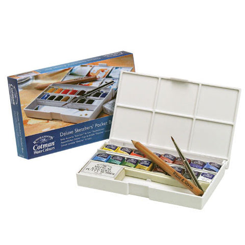 Cotman Watercolour Pocket Boxes