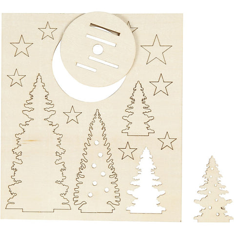 Laser Cut Christmas Designs