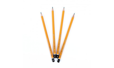 Koh-I-Noor 4 Grade Pencil Set