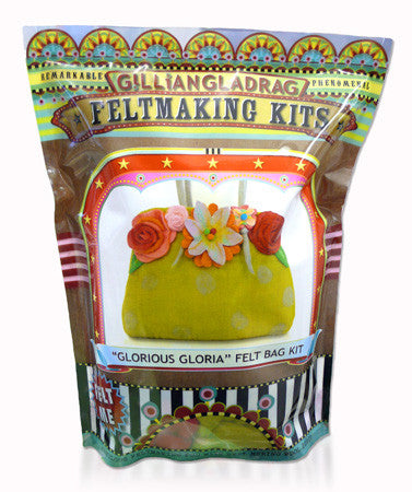 Gillian Gladrag Glorious Gloria Felt Bag Kit