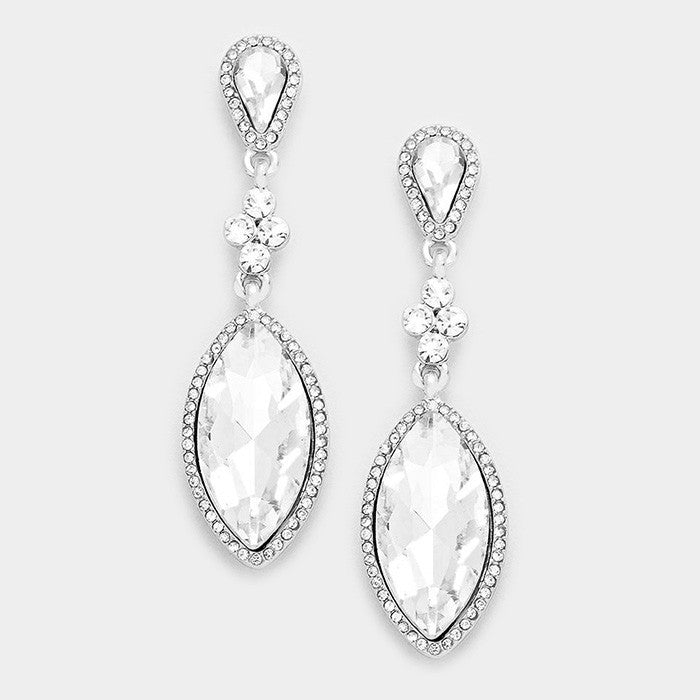 Crystal Evening Earrings