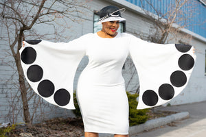 Dot Butterfly Dress