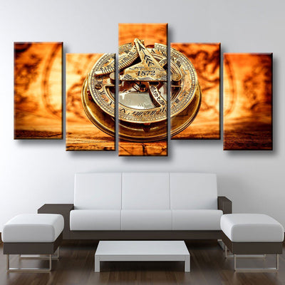 1872 Compass - Amazing Canvas Prints
