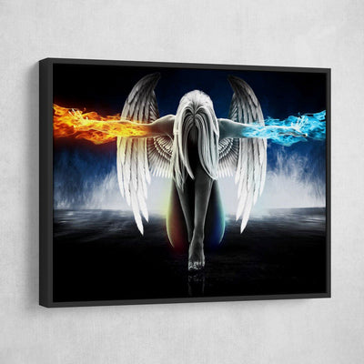 Angel Power - Amazing Canvas Prints