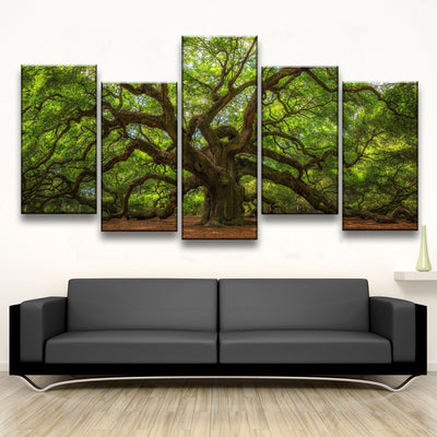 Angel Oak Tree - Amazing Canvas Prints