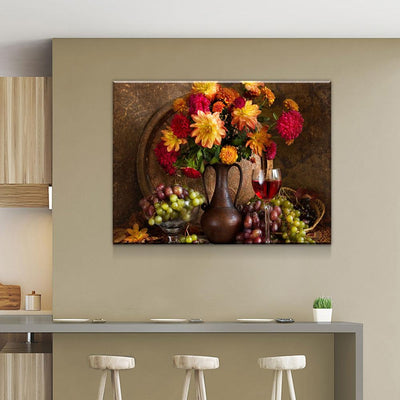 Beautiful Floral Arrangement - Amazing Canvas Prints