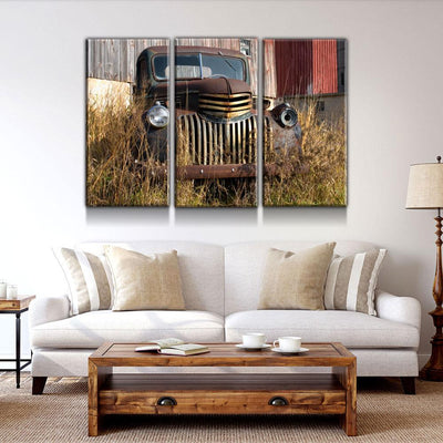 Behind The Barn - Amazing Canvas Prints