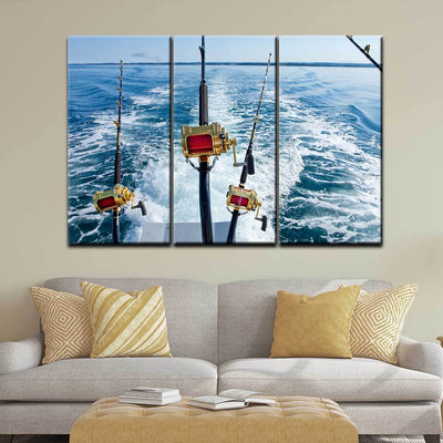 Big Game Fishing Reels - Amazing Canvas Prints