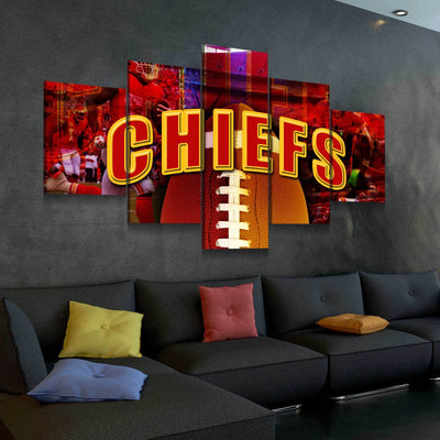 Kansas City Chiefs - Amazing Canvas Prints