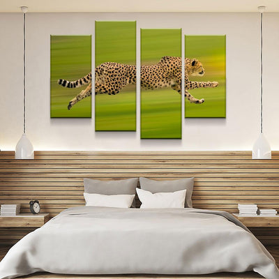 Cheetah On The Run - Amazing Canvas Prints