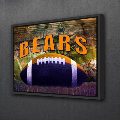Chicago Bears - Amazing Canvas Prints