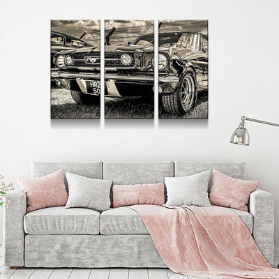Classic Mustang - Amazing Canvas Prints