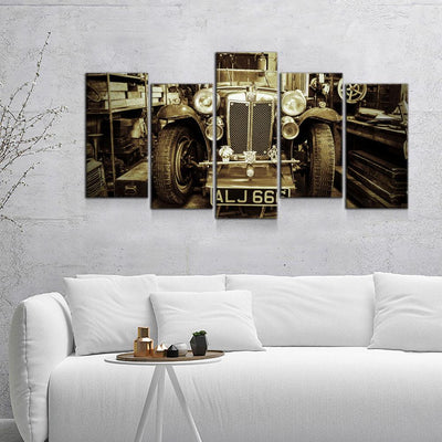 Classic Roadster - Amazing Canvas Prints