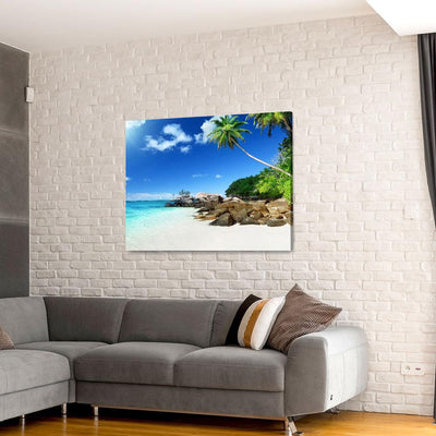 Coastal Tropical Beach Vacation - Amazing Canvas Prints