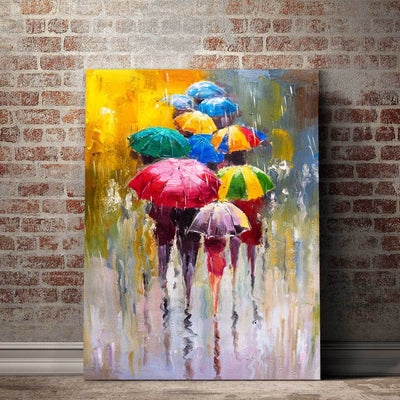 Colorful Umbrellas - Amazing Canvas Prints