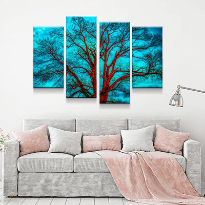 Contrasting Skies - Amazing Canvas Prints