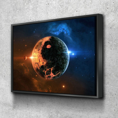 Distant World - Amazing Canvas Prints