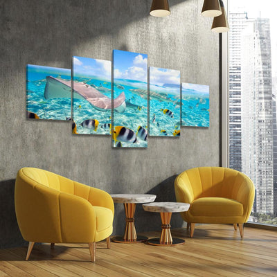 Divers Dream - Amazing Canvas Prints