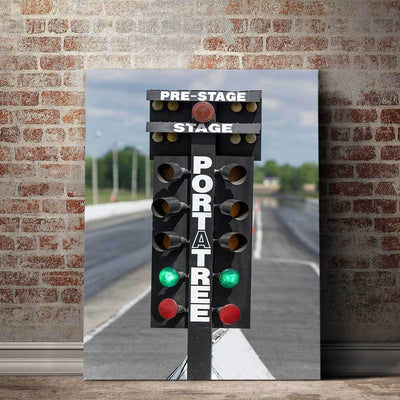 Drag Strip Lights - Amazing Canvas Prints