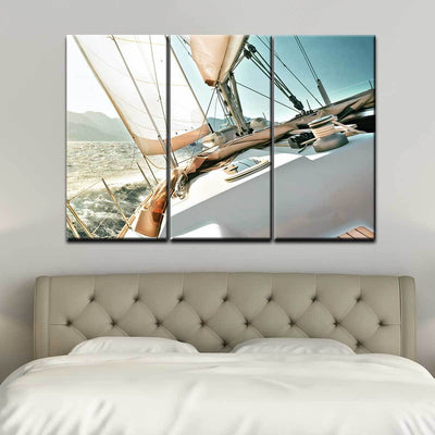 Early Morning Sailing - Amazing Canvas Prints