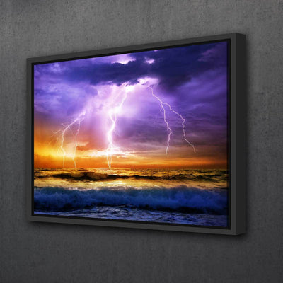 Extreme Storm - Amazing Canvas Prints