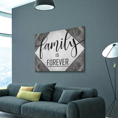 Family Is Forever V1 - Amazing Canvas Prints