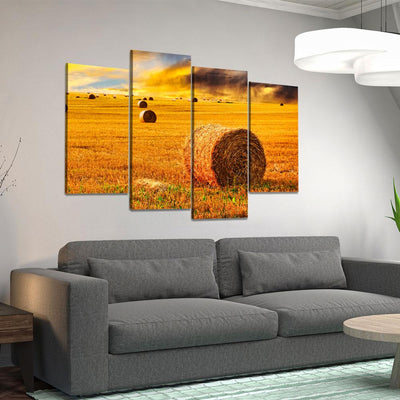 Farming Fields V2 - Amazing Canvas Prints