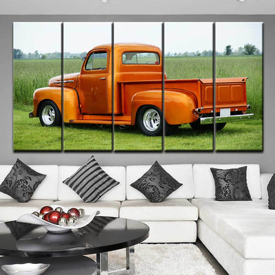 Classic 1951 Ford F-150 - Amazing Canvas Prints
