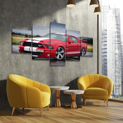Mustang GT 500 - Amazing Canvas Prints