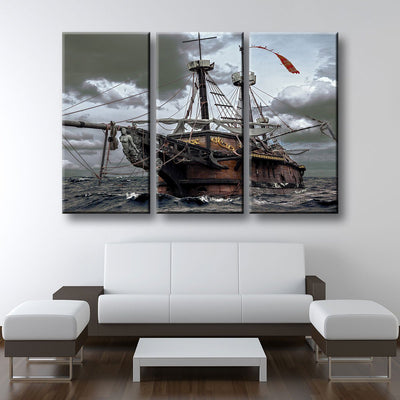 Ghost Ship - Amazing Canvas Prints