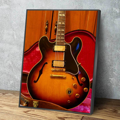 Gibson ES 345 - Amazing Canvas Prints