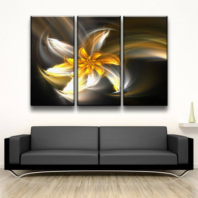 Golden Flower - Amazing Canvas Prints