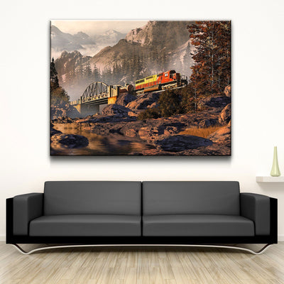 Great South Mountain Pass - Amazing Canvas Prints