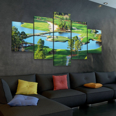 Kings North Course - Amazing Canvas Prints