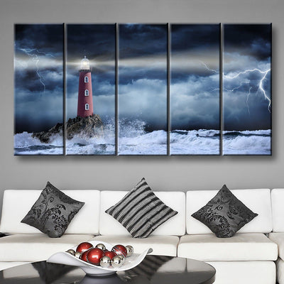 Light Through The Storm - Amazing Canvas Prints