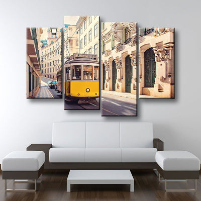 Lisbon Portugal Tram - Amazing Canvas Prints