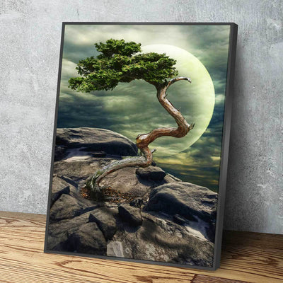 Living On The Edge V2 - Amazing Canvas Prints