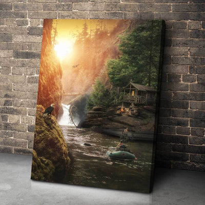 Living In The Valley - Amazing Canvas Prints
