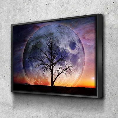Lonely Tree - Amazing Canvas Prints
