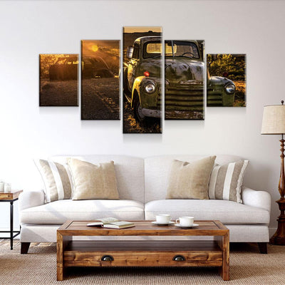 Long Lonely Road - Amazing Canvas Prints