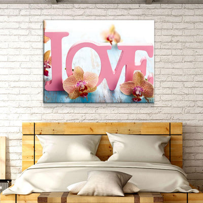 Pink Love - Amazing Canvas Prints