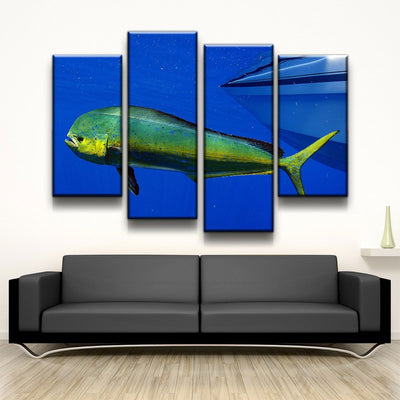 Mahi Mahi - Amazing Canvas Prints