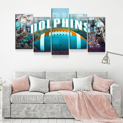 Miami Dolphins - Amazing Canvas Prints