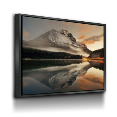 Mountain Lake Reflection - Amazing Canvas Prints