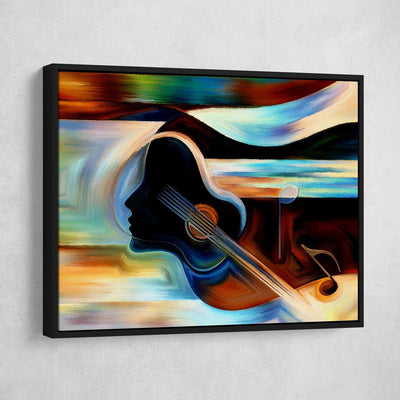 Music On Your Mind - Amazing Canvas Prints