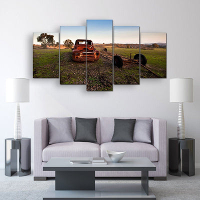 Old Truck - Amazing Canvas Prints